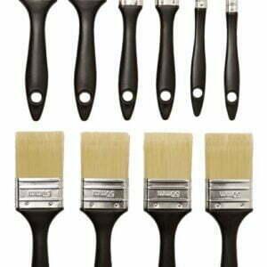 Set 10 pensule, negru, acoperire optima, curatare usoara