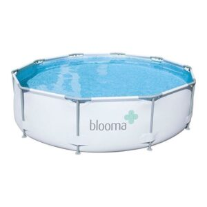 Piscina cu cadru metalic Blooma, 305 x 76 cm, pompa de filtrare apa, 4768 litri