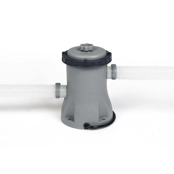 Piscina cu cadru metalic Bestway, Steel Pro MAX, 366 x 76 cm, pompa filtrare 1249 l/h, capacitate 6473 l