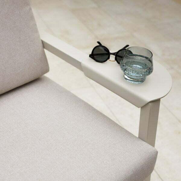 Set mobilier gradina modular Santorini, canapea cu masa cafea si 2 fotolii