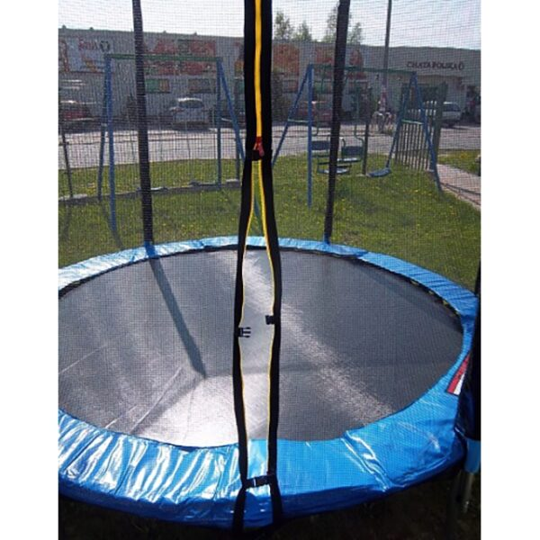 Trambulina pentru Copii si Adulti, Diametru 305cm, Capacitate 150kg, Plasa Laterala cu Fermoar si Picioare Duble