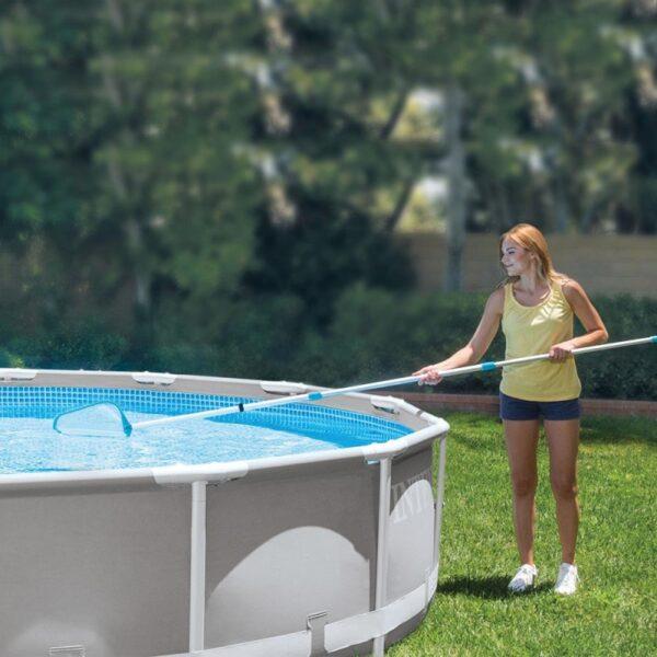 Kit Intex mentenanta piscina cu montura aspirator, 2.39m