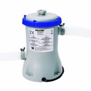 Pompa filtrare apa piscina Bestway 58148, 2006 l apa/ora si 2 furtunuri