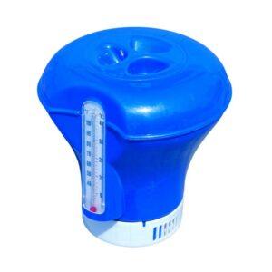 Distribuitor chimic flotant Bestway 58209, cu termometru