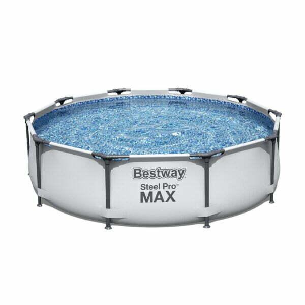 Piscina cadru metalic Bestway Steel Pro MAX™, 305x76 cm, 4.700 litri, cu pompa de filtrare