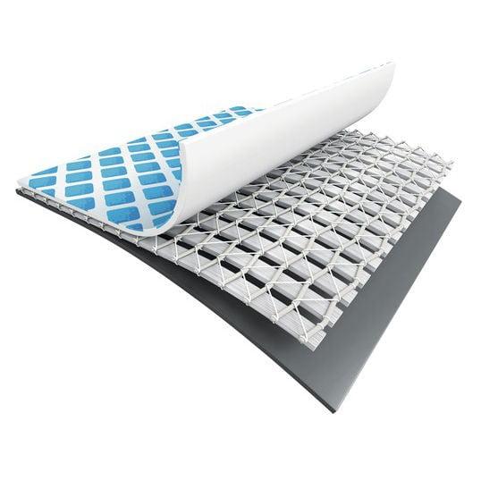 Piscina cu cadru metalic Intex, dreptunghiulara, cu pompa de filtrare si scara, 549 x 274 x 132 cm