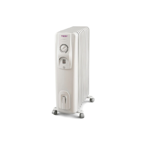 Calorifer electric Tesy CC 2008 E05 R, 2000 W, 8 elementi, 3 trepte putere, Termostat de siguranta, Termostat reglabil, Protectie anti-inghet